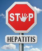 stock photo of hepatitis  - hepatitis prevention treatment and diagnosis for symptoms stop liver cirrhosis symptoms and virus - JPG