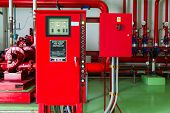 pic of stopcock  - Controller of water sprinkler and fire fighting system - JPG