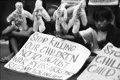 Children'S Protest: Stop Killing Us