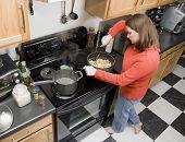 Cooking Pasta Dish poster