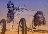 car driver - racer