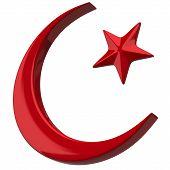 Crescent Islamic symbol