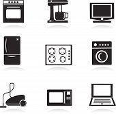 Home electrical appliances set