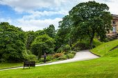 Nottingham castle park