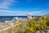 stock photo of faro  - Nordic nature of Faro island  - JPG