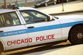 foto of trooper  - Police Cruiser in Chicago - JPG
