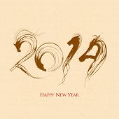 foto of horoscope  - illustration of 2014  - JPG