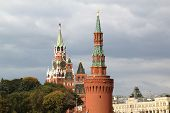Kremlin Towers In Moscow