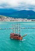 Cruise Touristic Ship