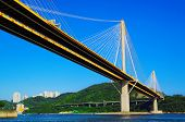 pic of hong kong bridge  - Ting Kau bridge - JPG