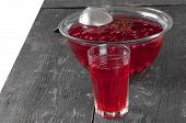 Stewed Cranberries And Other Berries