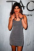 NEW YORK-SEP 28: Actress Priyanka Chopra attends the grand opening of TAO Downtown at the Maritime H