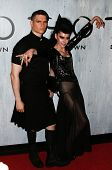 NEW YORK-SEP 28: Event producer Susanne Bartsch (r) and guest attend the grand opening of TAO Downtown at the Maritime Hotel on September 28, 2013 in New York City.