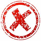 Refused Red Stamp