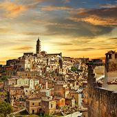 beautiful Matera - ancient city of Italy
