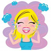 Woman Laughting
