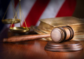 picture of jury  - Wooden gavel - JPG