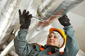 stock photo of thermal  - Thermal insulation - JPG