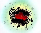 Hearts In Splatter