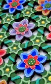 Flower Lattice Panel