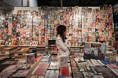 Comics On Display At Cartoomics 2014 In Milan, Italy