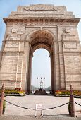 pic of india gate  - India Gate historical memorial in New Delhi India - JPG