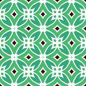 Vector multicolor ethnic pattern