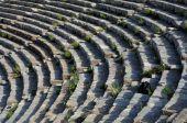 Linhas de teatro em Éfeso