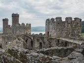 View On Conwy Castle, Wales