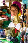 Long Necked Woman,Thailand