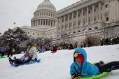 Us Capitol Sledding