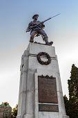 Soldier Statue At Victoria