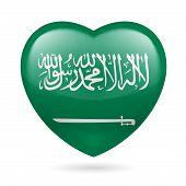Heart icon of Saudi Arabia