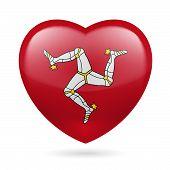 Heart icon of Isle of Man