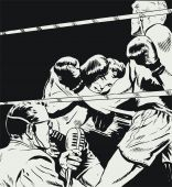 Boxers In A Fight