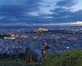 Parthenon Acropolis and Athens cityscape Greece
