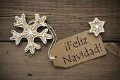 Spanish Christmas Greetings With Ginger Breads
