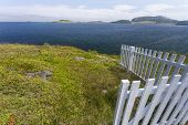 picket fence, Trinity bay, Newfoundland