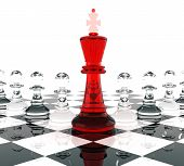 image of three kings  - Chess King and Pawns signifying leadership - JPG