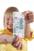 The Girl And The Monetary Denomination