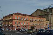 KIEV, UKRAINE -AUG 24, 2014: Downtown.Historical area. August 24, 2014 Kiev, Ukraine