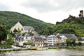 Beilstein Town And Metternich Castle, Germany