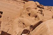 foto of sudan  - The Great Temple of Abu Simbel on the border of Egypt and Sudan - JPG