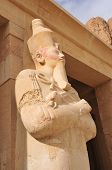 image of mortuary  - The Mortuary Temple of Queen Hatshepsut Egypt - JPG