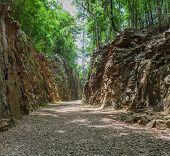 Hellfire Pass In Kanchanaburi, Thailand
