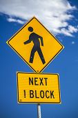 Next 1 Block, Information For Pedestrian