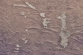 Abstract Texture Of The Shabby Leather Brown Color