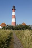 Westerhever (germany) - Light House