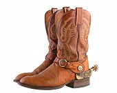picture of spurs  - Cowboy boots - JPG