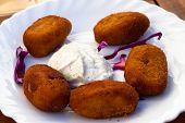 Fried Spanish Tapas Plate